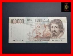 ITALY 100000  100.000 Lire  1983  P. 110 Serie A  VF - [ 2] 1946-… : Républic