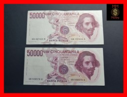 ITALY 50000  50.000 Lire 1984  1985  P. 113  Serie UA - UB  Couple  VF - [ 2] 1946-… : Repubblica