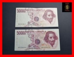ITALY 50000  50.000 Lire 1984  1985  P. 113  Serie WA - WB  Couple  VF - [ 2] 1946-… : Repubblica