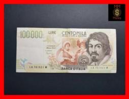 ITALY 100000  100.000 Lire  1994  P. 117 Serie A  VF - [ 2] 1946-… : Républic
