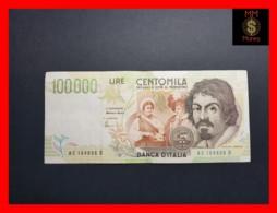 ITALY 100000  100.000 Lire  1995  P. 117 Serie C  VF - 100000 Liras