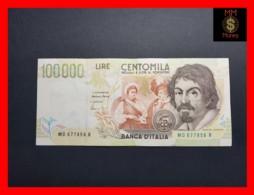 ITALY 100000  100.000 Lire  1997  P. 117 Serie D  VF - 100000 Liras