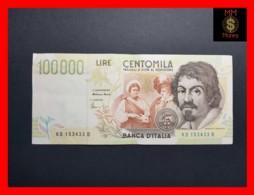 ITALY 100000  100.000 Lire  1997  P. 117 Serie D  VF - [ 2] 1946-… : Républic