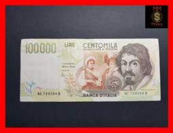 ITALY 100000  100.000 Lire  1998  P. 117 Serie E  VF - [ 2] 1946-… Republik