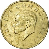 Monnaie, Turquie, 25000 Lira, 25 Bin Lira, 1996, TB+, Copper-Nickel-Zinc - Turquie