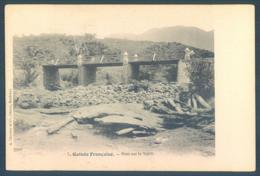 Guinée Française Pont Sur Le Tabili - Guinée Française