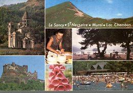 63 MASSIF DU SANCY EGLISE ST NECTAIRE LAC CHAMBON.... - France