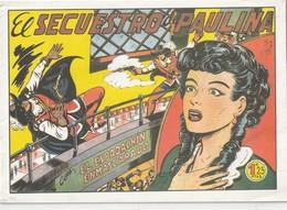 España. Revista De Comicos. El Espadachín Enmascarado. El Secuestro De Paula. N° 8. - Libri, Riviste, Fumetti