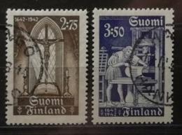Finlande 1942 / Yvert N°253-254 / Used - Oblitérés