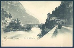 VS Valais Pont De Saint Maurice - VS Valais