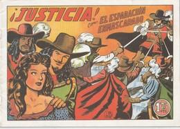 España. Revista De Comicos. El Espadachín Enmascarado. ¡Justicia!  N° 4. - Libri, Riviste, Fumetti