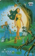 *BELGIO* - Scheda Usata - Disney