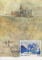 Carte  Maximum  1er  Jour    FRANCE   Oeuvre  De   ZAO   WOU - KI    1995 - 1990-99