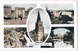 SAINT MAIXENT . 23 . Carte Souvenir 5 Vues .1960. - France