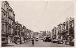Blankenberge, Blankenberghe, Avenue De Troost, Troost Laan, Tram, VW Kever, Käfer, Coccinelle (pk68689) - Blankenberge