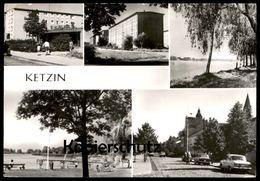 ÄLTERE POSTKARTE KETZIN KREIS NAUEN Briefmarke DDR Tillandsia Bulbosa Bromelie Ansichtskarte Postcard Cpa AK - Ketzin