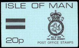 Isle Of Man 1975 20p Sachet Booklet (SG15 & 18) Unmounted Mint. - Isle Of Man