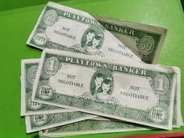 Lot 7 Billets. Playtown Banker - Autres