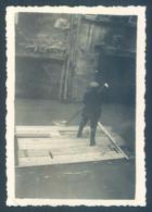 84 AVIGNON Inondations Nov 1935 Photo 6 X 9 Cm - Orte