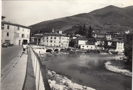 SOPRAPONTE-BRESCIA-LUNGOCHIESE-CARTOLINA VERA FOTOGRAFIA VIAGGIATA IL 25-4-1966 - Brescia