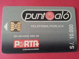 ECUADOR ECU PO 02 Punto Alo Grey Porta Puntoalo S/. 10000 Equateur Used état Courant (CB1217 - Equateur