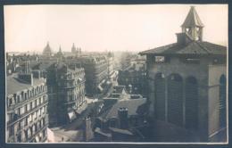 69 LYON 1940 Vue Prise De La Terrasse Des Galeries Photo Originale 8 X 13 Cm - Places