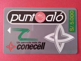 ECUADOR ECU CO 01 Punto Alo  Conecell Puntoalo Surcharge Overprint S/. 5000 Equateur  (CB1217 - Ecuador