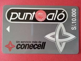 ECUADOR ECU CO 02 Punta Alo Conecell Puntoalo S/. 10000 Equateur  (CB1217 - Equateur