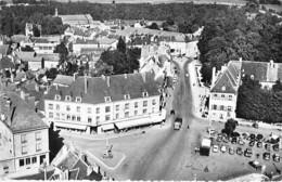 21 - CHATILLON Sur SEINE : La Grande Place - CPSM  Dentelée Noir Blanc Format CPA 1957 - Côte D'Or - Chatillon Sur Seine