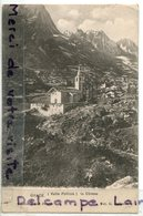 - OYACE - (Aoste ) - Valle Pellina, Chiessa, Cliché Peu Courant, écrite, épaisse, Coins Ok, TTBE, Scans; - Italy