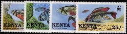 Kenya 1997 Chiclid Unmounted Mint. - Kenia (1963-...)
