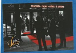 CPM Blois Club Le That Jazz Concert Tapas Drink Et Cinéma Les Lobis Blois - Dos Imprimé Avec Date Des Concerts - Muziek En Musicus