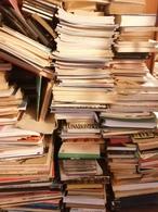 Gros Lots De Livres Revues Journaux Magazines Bande Dessinées Par Lots De 1000 - Books, Magazines, Comics