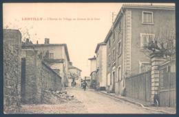 69 LENTILLY L'Entrée Du Village  Avenue De La Gare - France