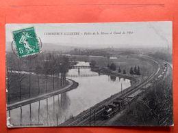 CPA (55) Commercy. Vallée Et Canal De L'est. Chemin De Fer Avec Un Train.   (N.961) - Commercy