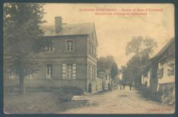 80 MAISON PONTHIEU Ecole Et Rue D'Yvrench Environs D'Auxi Le Chateau - France