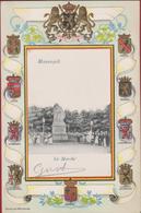 Maaseik Maeseyck Le Marche De Markt CPA RARE ZELDZAAM Embossed Gaufree 1907  (In Zeer Goede Staat) - Maaseik