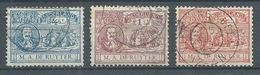 Pays-Bas YT N°73/75 Amiral M.A. De Ruyter Oblitéré ° - 1891-1948 (Wilhelmine)