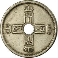 Monnaie, Norvège, Haakon VII, 25 Öre, 1940, TTB, Copper-nickel, KM:384 - Norvège