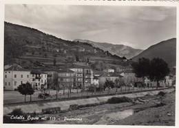 CABELLA LIGURE-ALESSANDRIA-PANORAMA-CARTOLINA VERA FOTOGRAFIA VIAGGIATA IL 12-8-1955 - Alessandria
