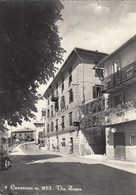 CAVARENO-TRENTO-VIA ROMA-ALBERGO=CORONA=-VESPA PIAGGIO-CARTOLINA VERA FOTOGRAFIA VIAGGIATA IL 28-7-1962 - Trento