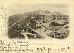 AK 1898 Hongkong Peak Station In Deutschland Gelaufen (1440 - Ansichtskarten