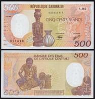 GABUN - GABON 500 Francs 1985 UNC (1) Pick 8  (23604 - Banconote