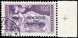 1922, Schweiz Völkerbund SDN, 15 PK, Cto - Service
