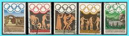 GREECE -GRECE- HELLAS 1984: Olympic Games Los Angeles Compl. Set Used - Griekenland