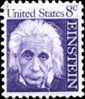 1966 USA Albert Einstein Stamp Sc#1285? Famous Atom Mathematics Physics Nobel Prize - Atom