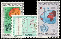 Morocco 1964 World Meteorological Day Unmounted Mint. - Marokko (1956-...)