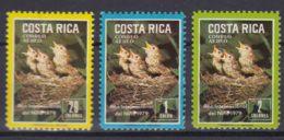 Costa Rica 1979 Birds Mi#1029-1031 Mint Never Hinged - Costa Rica