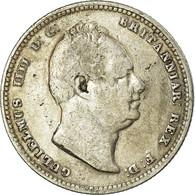 Monnaie, Grande-Bretagne, William IV, Shilling, 1834, TB+, Argent, KM:713 - 1816-1901: 19. Jh.