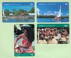 Tuvalu - 1995 First Issue Set (4) - TUV-1/4 - Mint - Tuvalu